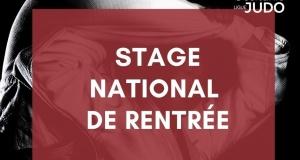 Stage National de Rentrée 2021
